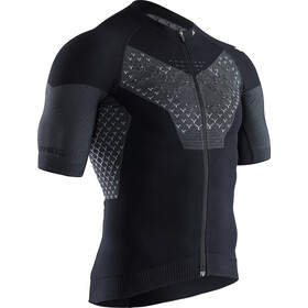 X-Bionic Twyce G2 Bike Zip Jersey SS Men, black melange